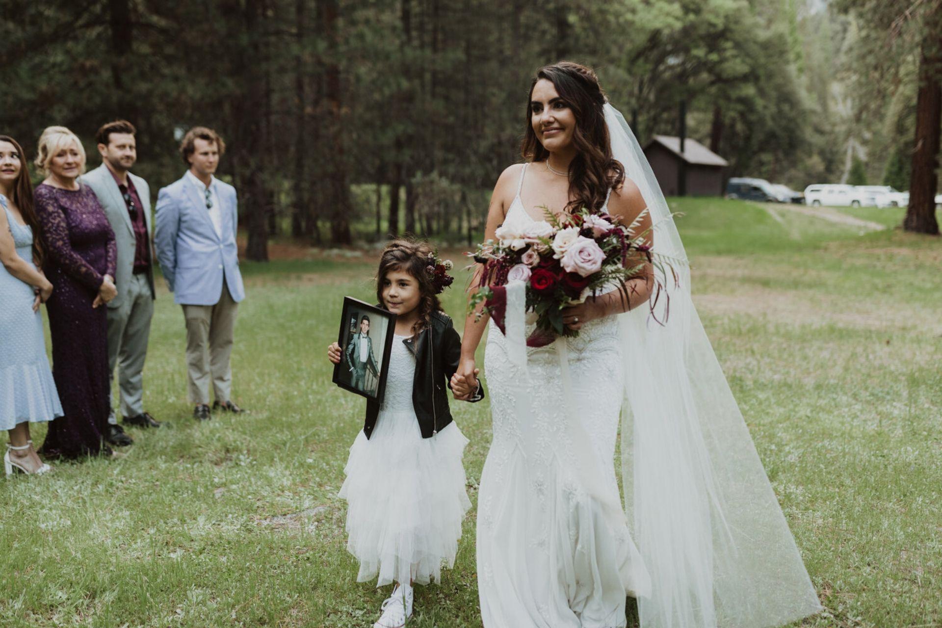 Honour loved ones in wedding