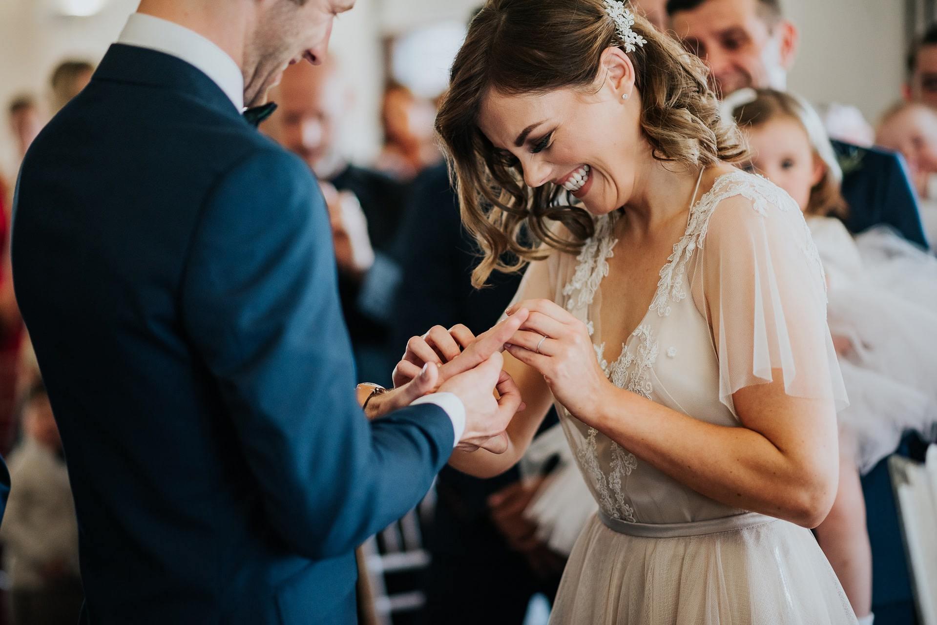 Personalised wedding ceremony