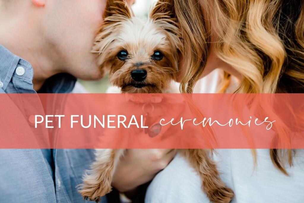 Pet Funeral Ceremonies