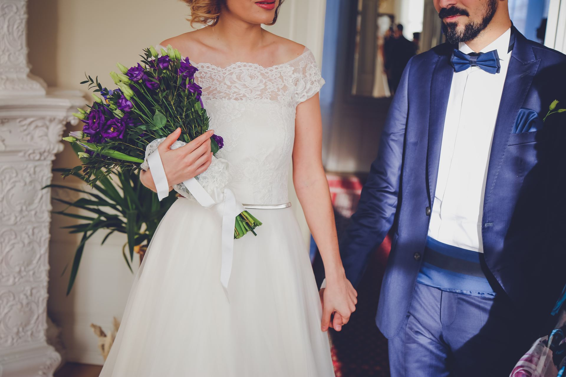 Breaking the rules: Who will walk down the aisle first?