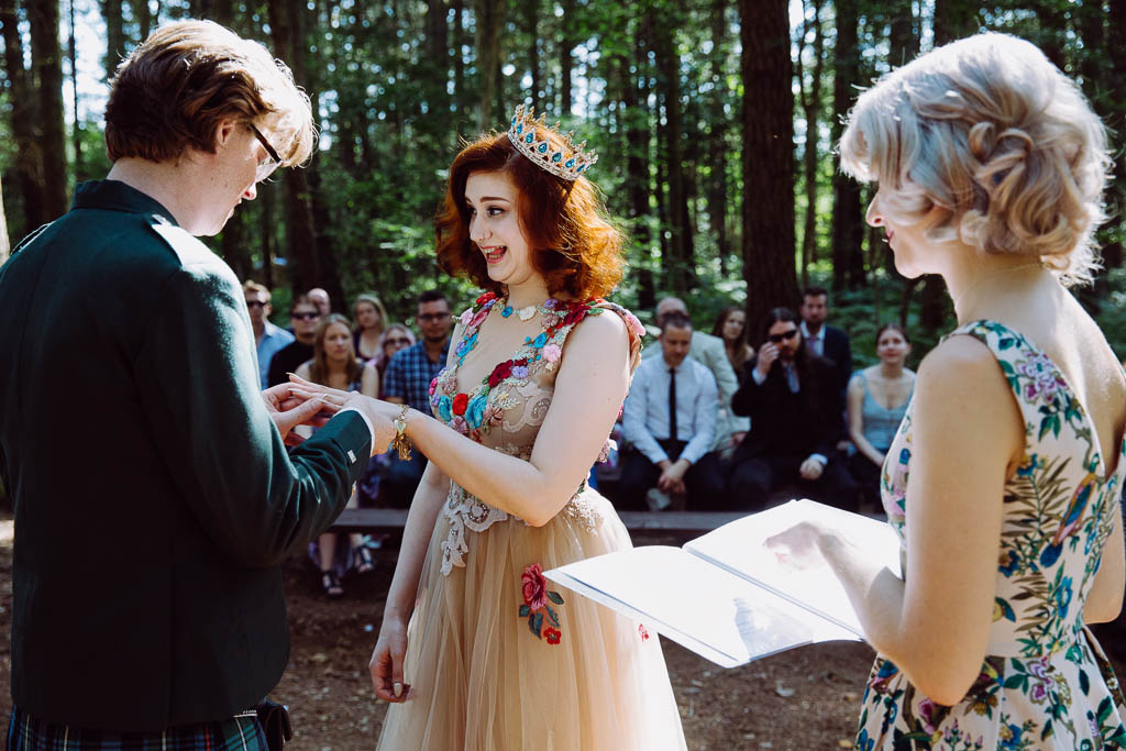 Secrets to a successful outdoor ceremony