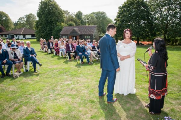 Inspired by a hearing impaired wedding