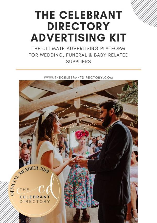 THE CELEBRANT DIRECTORY ADVERTISING KIT4