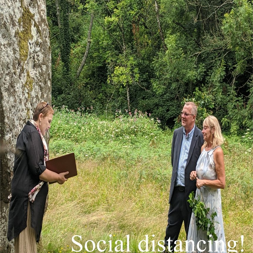 Out side socially distanced elopement