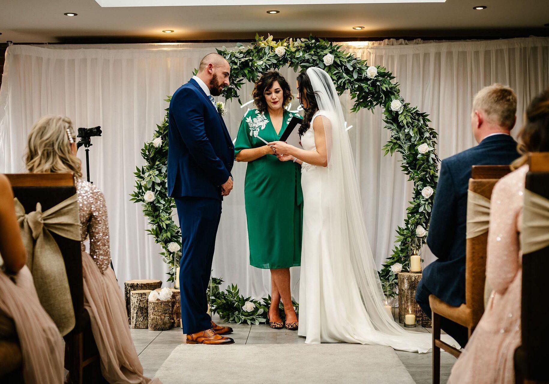 Celebrant wedding